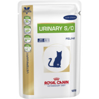 Royal Canin Veterinary Diets Urinary SO Cat Food 100g x 96 Chicken