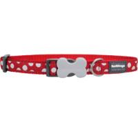 Red Dingo Polka Dot Dog Collar