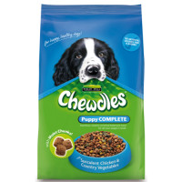 Chewdles Complete Chicken & Veg Puppy Food