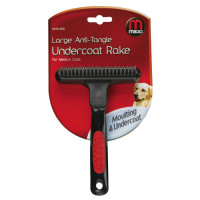 Mikki Anti Tangle Undercoat Rake Dog Grooming Medium Coat