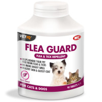 Mark & Chappell VetIQ Flea Guard for Dogs & Cats 90 Tablets
