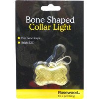 Rosewood Bone Shaped Collar Light