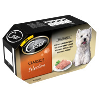 Cesar Tray Classics Selection Adult Dog Food 150g x 4
