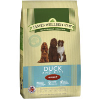 James Wellbeloved Duck & Rice Adult Dog Food 15kg