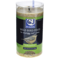 CJ Wildlife High Energy Peanut Cake Wild Bird Food 500ml With Insects x 6