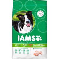 IAMS Chicken Small & Medium Breed Adult Dog Food 12kg x 2