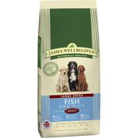 James Wellbeloved Ocean Fish & Rice Adult Large Dog Food 15kg