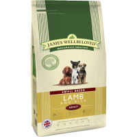 James Wellbeloved Lamb & Rice Adult Small Breed Dog Food 7.5kg