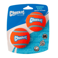 Chuckit Tennis Ball 2 Pack Dog Toy 6.5cm