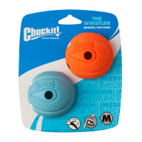 Chuckit The Whistler Ball 2 Pack Dog Toy