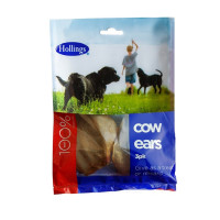 Hollings Cow Ears Dog Chew 3 Ears