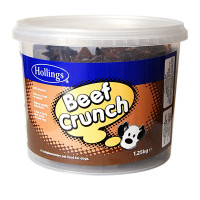 Hollings Tub Beef Crunch Dog Treats 1.25kg
