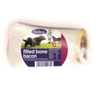 Hollings Filled Bones Dog Treats Bacon