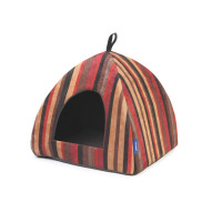 Ancol Rich Stripe Pyramid Cat Bed