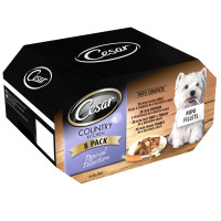 Cesar Tray Country Kitchen Special Selection Adult Dog Food 150g x 8