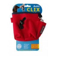 CLIX Training Treat Bag Red