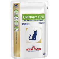 Royal Canin Veterinary Urinary Moderate Calorie Cat Food  100g x 96
