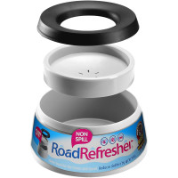 Road Refresher Non Spill Water Bowl Grey Large