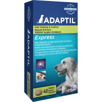 Adaptil Express Dog Calming Tablets 40 Tablets
