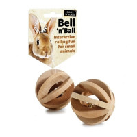Sharples Pet Bell N Ball for Small Animals 6cm
