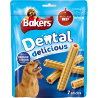 Bakers Dental Delicious Beef Dog Treats Medium Dog (10 - 25kg)