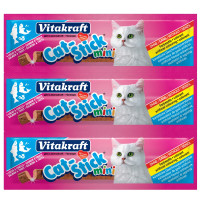 Vitakraft Mini Cat Stick Treats Salmon and Trout
