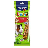 Vitakraft Kracker Fruit Flakes Guinea Pig Sticks  2 Pack