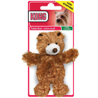 KONG Plush Bear Dog Toy Bear