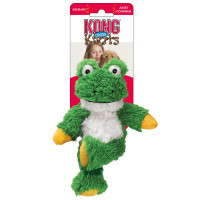 KONG Cross Knots Frog Dog Toy Small - Medium