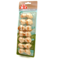 8in1 Dental Delights Chicken Dog Bones  X Small