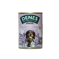 Denes Senior Chicken Lamb & Rice Dog Food 400g x 12