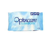Optixcare Eye Cleaning Wipes  50 Pack