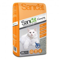 Sanicat Clumping Cat Litter 20 Litres