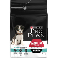 PRO PLAN OPTIGIDEST Chicken Sensitive Digestion Medium Puppy Food 3kg