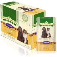 James Wellbeloved Lamb & Rice Senior Dog Pouches 150g x 10