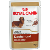 Royal Canin Dachshund Wet Pouches Adult Dog Food 85g x 12
