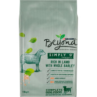 Purina Beyond Simply 9 Lamb & Barley Adult Dog Food 10kg x 2