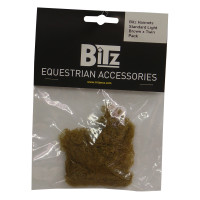 Bitz Hairnet Standard Light Brown Twin Pack