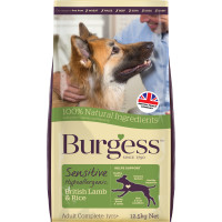 Burgess Complete Sensitive Lamb & Rice Adult Dog Food