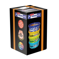Horslyx Mini Licks Rainbow Mixed Box 4 Pack 650g