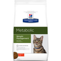 Hills Prescription Diet Metabolic Weight Management Chicken Dry Cat Food 4kg