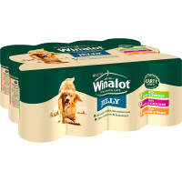 Winalot Hearty Duos In Jelly Tin Dog Food 400g x 12