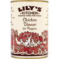 Lilys Kitchen Chicken Dinner Puppy Food 400g x 6