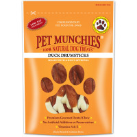 Pet Munchies Natural Dog Treats 100g - Duck Drumsticks