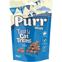 Wagg Purr Tasty Cat Treats 60g Tuna