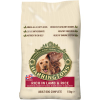 Harringtons Lamb & Rice Dog Food 15kg x 2