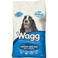 Wagg Complete Chicken & Vegetable Adult Dog Food 12kg