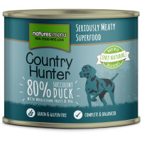 Natures Menu Country Hunter Duck Adult  Cans