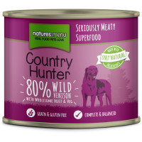 Natures Menu Country Hunter Venison Adult  Cans