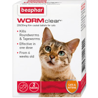 Beaphar WORMclear Cat Worming Tablets